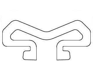 100m W Tyre Profile